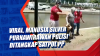 Viral, Manusia Silver Purnawirawan Polisi Ditangkap Satpol PP
