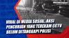 Viral di Media Sosial, Aksi Pencurian yang Terekam CCTV Belum Ditanggapi Polisi