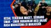 Kesal Terjebak Macet, Seorang Emak - Emak bubarkan Aksi Unjuk Rasa Mahasiswa di Makassar