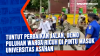 Tuntut Perbaikan Jalan, Demo Puluhan Warga Ricuh di Pintu Masuk Universitas Asahan