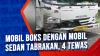 Mobil Boks dengan Mobil Sedan Tabrakan, 4 Tewas
