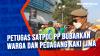 Petugas Satpol Pp Bubarkan Warga dan Pedagang Kaki Lima