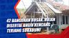 42 Bangunan Rusak, Hujan Disertai Angin Kencang Terjang Sukabumi
