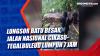 Longsor Batu Besar, Jalan Nasional Cikaso-Tegalbuleud Lumpuh 7 Jam