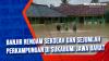 Banjir Rendam Sekolah dan Sejumlah Perkampungan di Sukabumi Jawa Barat