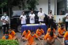 17 Anak Buah Bandar Pemilik 100 Kg Sabu Diringkus Polisi