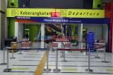 Pembatasan Operasional Transportasi, Stasiun Gambir Masih Lengang