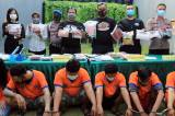 Tangkap 7 Tersangka, Polrestabes Surabaya Amankan Sabu 8,8 Kg