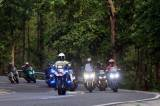 Puluhan Rider Ikuti Mister Aladin Road Trip Protocol CHSE Big Max Indonesia