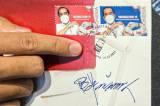 Perangko Edisi Vaksinasi Covid-19 Bergambar Presiden Joko Widodo