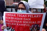 Aksi Damai Mahasiswa Peringati Hari Perempuan Internasional di Makassar