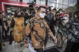 Moeldoko Tinggalkan Gedung KPK Usai Hadiri Peluncuran Stranas PK