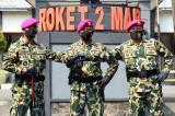 Letkol Marinir Daulat Situmorang Jabat Komando Komandan Batalyon Roket 2 Marinir