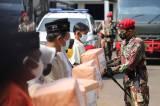 HUT ke-69, Kopassus Bagikan 6.900 Paket Sembako Untuk Warga Binaan