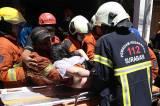 Kebakaran Ruko di Genteng Besar Surabaya, 1 Tewas dan 3 Orang Terjebak Berhasil Selamat