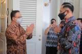 Bahas Kondisi Jakarta dan Indonesia Terkini, AHY Sambangi Anies di Balai Kota