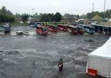 Terminal Rajabasa Lampung Sepi Imbas Larangan Mudik Lebaran