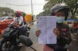 Pemberlakuan Surat Izin Keluar Masuk di Jembatan Suramadu