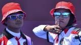 TOP! Tim Panahan Indonesia Tundukan Amerika Serikat di Babak Eliminasi Beregu Campuran Olimpiade Tokyo 2020