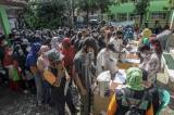 Penyaluran Bantuan Sosial Tambahan Berupa Beras