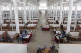 Daftar Ulang Pedagang Jelang Menempati Lapak di Pasar Johar Semarang