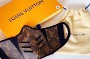 Masker Merek Louis Vuitton, Hanya Dipakai Sekali Harga Rp3 Juta
