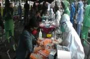 Rapid Tes di Pasar Lama Cikarang, Sopir Barang dan Juru Parkir Reaktif Covid-19