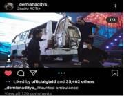 Demian Aditya Beli Mobil Ambulans Angker?