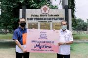 Label Kecantikan Marina Donasikan 18.000 Body Wash