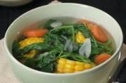 Resep Sayur Bening, Menu Rumahan yang Selalu Gugah Selera