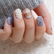 Uniknya , Ini Cara Bikin Nail Art Berdesain Sweater