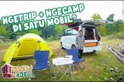 Gritte Agatha Bagikan Pengalaman Camping Unik dan Berbeda di Yogyakarta