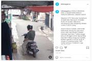 Terekam CCTV, Pemotor Curi 2 Smartphone Penjual Warung