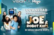 Gratis Kopi! Download Vision+ Originals Joe & Robot Kopi di Migo, Ini Caranya!
