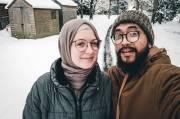 Viral! Kisah Bule Inggris Jadi Mualaf, Malu Masuk Masjid Tanpa Hijab
