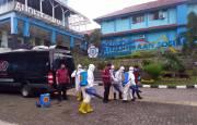 Lawan Covid-19, Tim Dekontaminasi Badan Intelijen Negara Sisir STKS Bandung