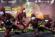 Pentas Perdana Animal Pop Komodo di Stasiun MRT