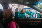 Altomed Buka Layanan Drive Thru Swab Test Antigen Covid-19 di Kelapa Gading