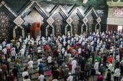 Jakarta Bebas Zona Merah Covid-19, Masjid At Tin Kembali Gelar Salat Jumat