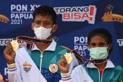 Kalahkan DKI dan Jatim, Papua Raih Medali Emas Panjat Tebing PON