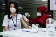 Sentra Vaksinasi Covid-19 Dosis Kedua MNC Peduli Gunakan Vaksin Pfizer