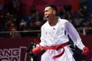 Karateka Lampung Raih Emas Kumite 55 Kg PON XX Papua 2021