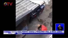 Seekor Monyet Disiksa Dua Pengamen, Videonya Viral di Medsos
