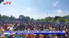 Ratusan Orang Berjoget di Kolam Abaikan Protokol Kesehatan