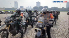 TNI-Polri Patroli Gabungan Amankan Ibu Kota