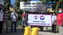 Gerkindo Partai Perindo Salurkan Bantuan Beras bagi Korban Bencana di NTT