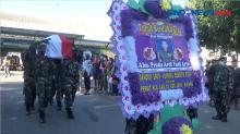 Jenazah Prada Arda Yudi Ardianto Korban OTK Papua Tiba di Kupang