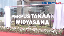 Panglima TNI Resmikan Gd Perpustakaan Widyasana Sesko AU