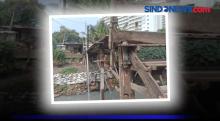 Kondisi Jembatan Tua Kampung Rawa Timur Jakbar yang Menghawatirkan