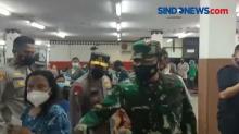 Panglima TNI-Kapolri Tinjau GOR Ciracas, Pastikan Vaksinasi Lancar